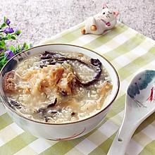 广式养胃下火粥-菜干烧猪骨小米粥