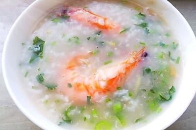 剩米饭大变身之鲜虾粥(早晚餐必会)