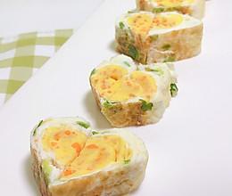 厚蛋烧 营养更美味 早餐吃什么#硬核菜谱制作人#的做法