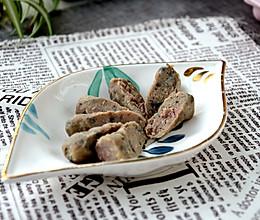 黑椒牛肉香肠的做法