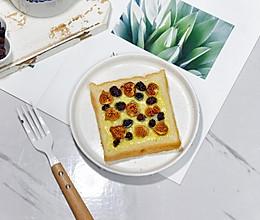 果干芝士吐司#雀巢营养早餐#的做法