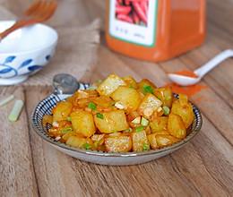 干煸香辣土豆丁的做法