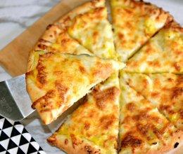 快速而媲美餐厅之榴莲披萨(万能披萨饼底及烘培要点)的做法