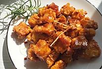 拔丝奶豆腐 #金龙鱼外婆乡小榨菜籽油 外婆的食光机#的做法