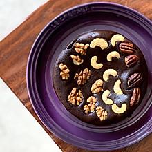 巧克力布朗尼|无粉无糖低碳生酮吃不胖