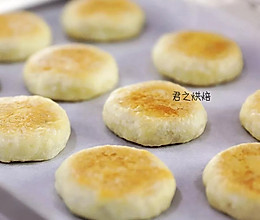 这么薄的皮,这么多的馅儿~~ | 金黄香酥的栗子肉松饼的做法