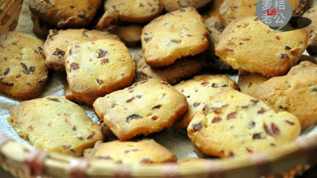 【长帝e·Bake互联网烤箱】蔓越莓饼干的做法