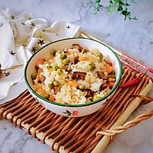 #全电厨王料理挑战赛热力开战!#豌豆糯米饭