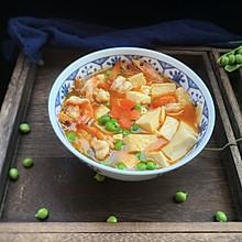 #童年不同样,美食有花样#虾仁豆腐