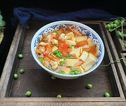 #童年不同样,美食有花样#虾仁豆腐的做法