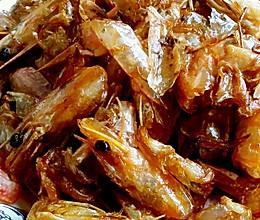 酥炸虾壳的做法