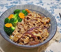 日式照烧牛肉饭的做法