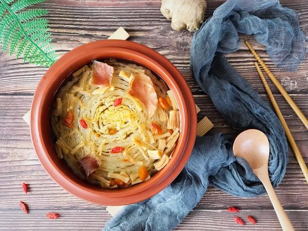 火腿瑶柱炖大白菜的做法