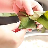 鲜肉鸭蛋黄粽子(内含红豆大枣口味)的做法图解13