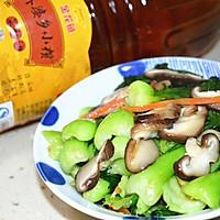 香菇青菜#金龙鱼外婆乡小榨菜籽油#的做法图解15