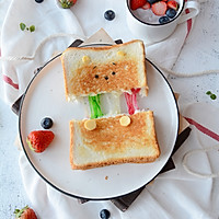 彩虹拉丝吐司-ins大热网红美食