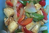 蚝油洋葱豆腐的做法