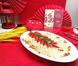 #太太乐鲜鸡汁芝麻香油#喜庆鞭炮红椒金针菇的做法