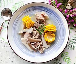 #秋天怎么吃#菌菇玉米扇骨汤(高压锅版)的做法