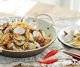 葱油花蛤(家常菜)的做法