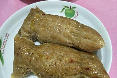 板栗肉粽子