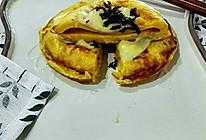 燕麦蛋饼 快手早餐的做法