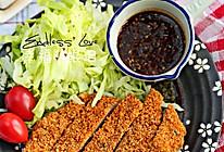 美味健康无油的【日式炸猪排】的做法