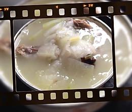 冬瓜鸭架汤的做法