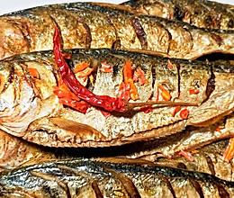 孜然辣子烤小海鱼的做法