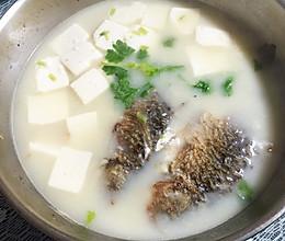 百分百奶白河鲫鱼豆腐汤的做法
