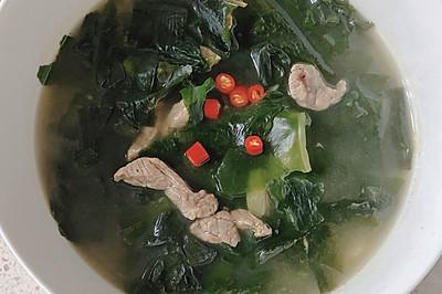 海带牛肉汤 减肥必备