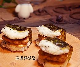 日式海苔饭汉堡的做法