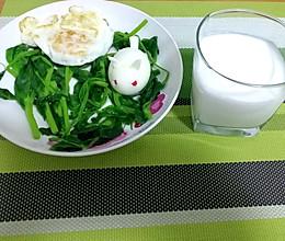 兔子早餐的做法