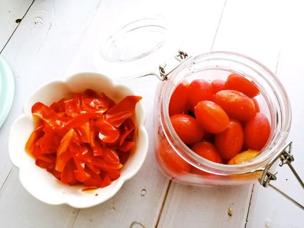 #炎夏消暑就吃「它」#冰镇话梅渍小番茄