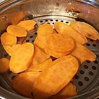 红薯糯米饼的做法图解2