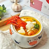 蒜香龙虾豆腐羹的做法图解11
