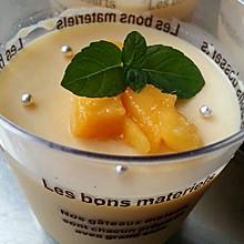 芒果奶酪布丁