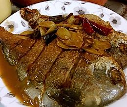 红烧平鱼的做法