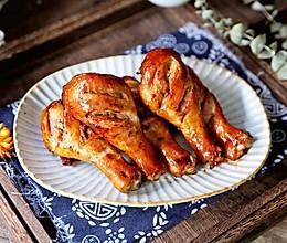 #一勺葱伴侣,成就招牌美味#蜜汁烤鸡腿的做法