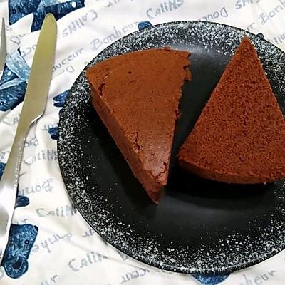 可可巧克力戚风蛋糕