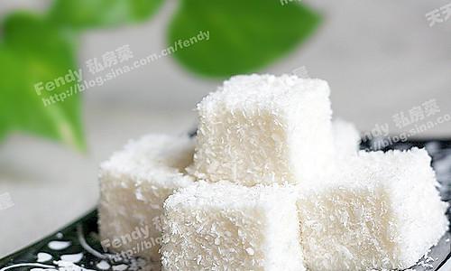 至爱的南洋椰奶冻、雪花椰奶凉糕 的做法