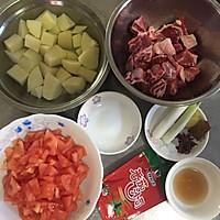 砂锅番茄牛肉汤#十万个喂什么#(做给宝宝们吃的菜)的做法图解1