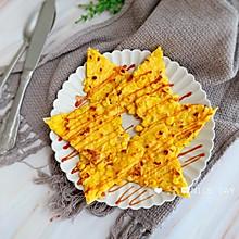 #肉食者联盟#黄金玉米鸡蛋饼