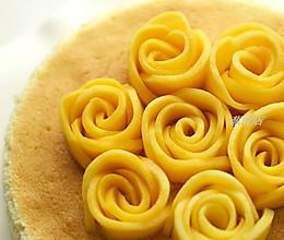 芒果花盘饰图解--装点你的餐点的做法
