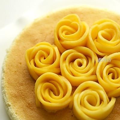 芒果花盘饰图解--装点你的餐点