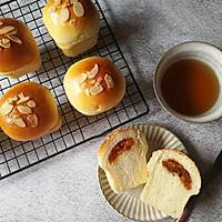 咸蛋黄肉松小面包的做法图解18