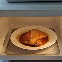 #豆果10周年生日快乐#鲜嫩多汁烤鸡全腿配芦笋的做法图解4