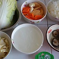 健康营养斋菜煲的做法图解2