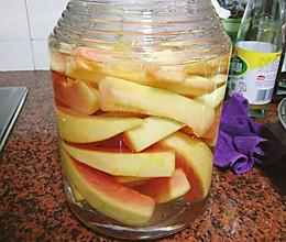 自家腌制酸脆木瓜的做法