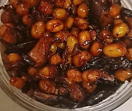 自制黄豆香菇酱的做法